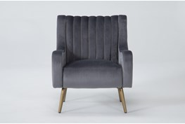 Cassia Charcoal Accent Chair