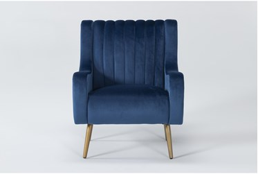 Cassia Blue Accent Chair