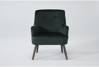 Chatou Emerald Green Accent Chair