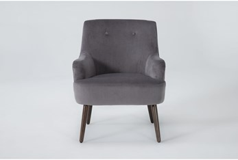 Chatou Charcoal Accent Chair