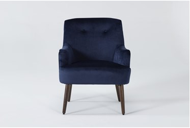 Chatou Blue Accent Chair