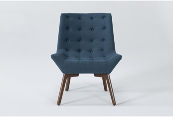 Shelly Teal Accent Chair