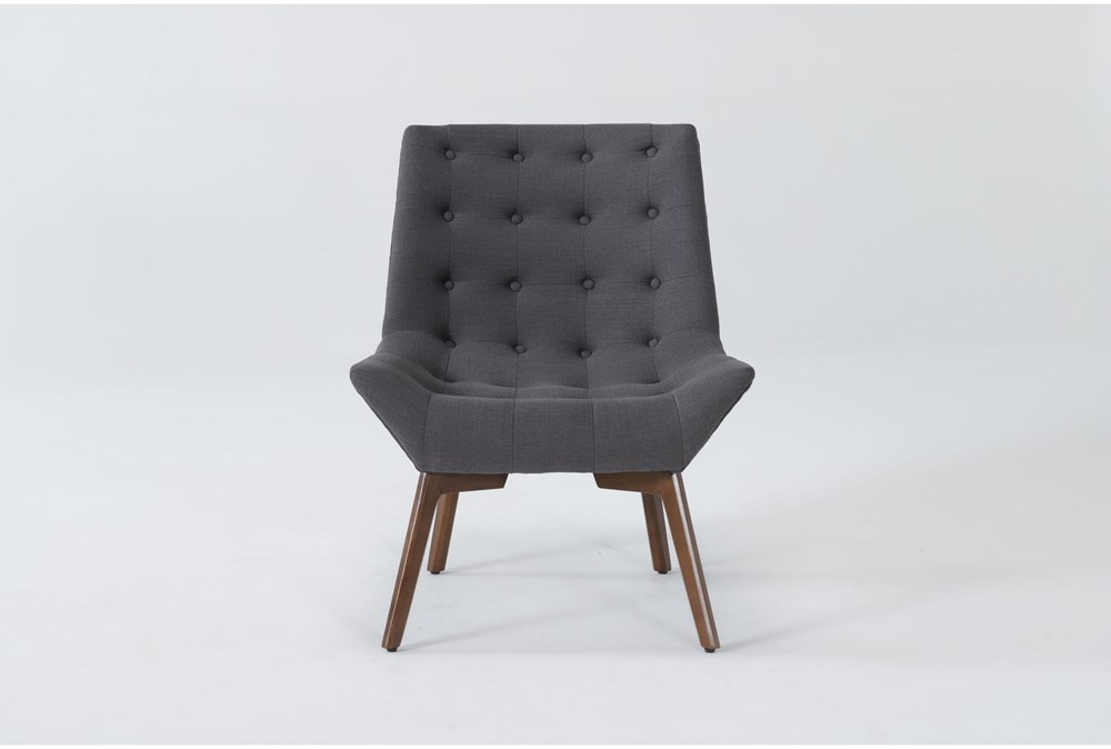 Shelly Charcoal Accent Chair