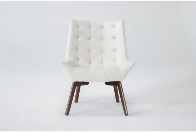 Shelly Linen Accent Chair - 360