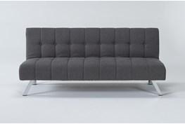 "Sawyer Grey 66"" Convertible Sofa Bed"