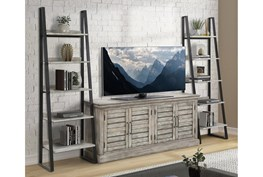 Kit-Jansen Console With Pair Of Etagere Bookcase Piers