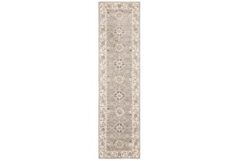 """2' 3""""X 8' Rug-Anona Traditional Blooms"""