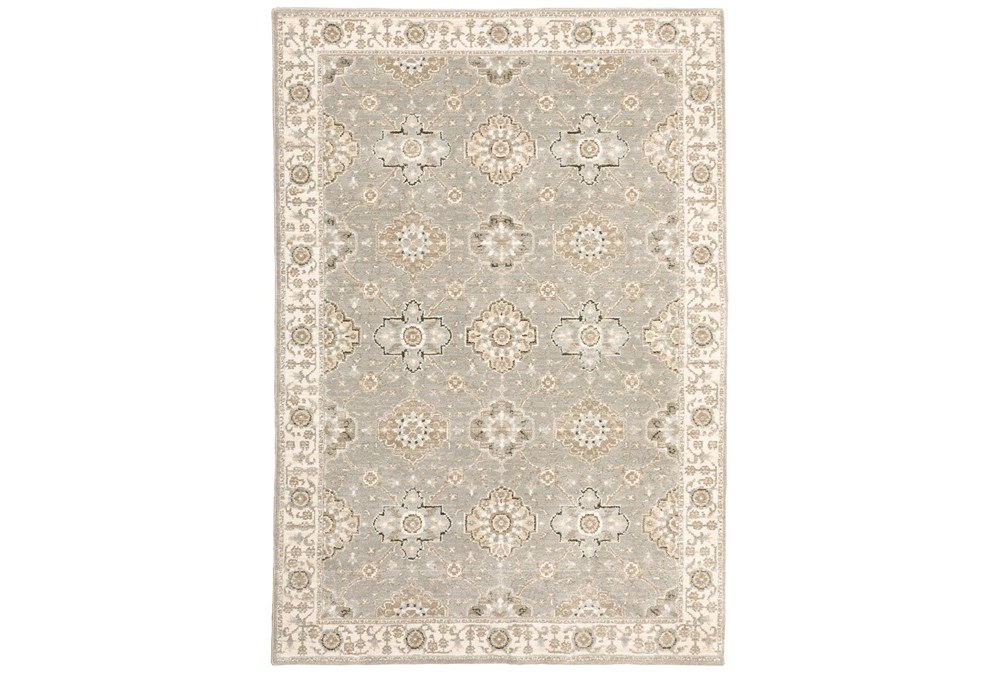 """5'3""""X7'3"""" Rug-Anona Traditional Blooms"""