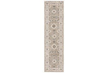 """2'3""""X8' Rug-Anona Traditional Floral"""