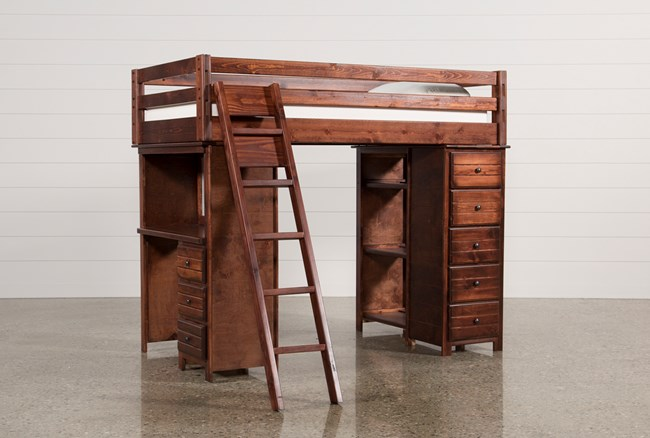 Sedona Loft Bed With Ladder - 360