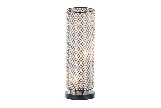 "19"" Crystal Table Lamp - 360"