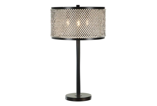 """27.5"""" Crystal Shade Table Lamp - 360"""
