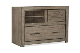 Riley Greystone Combo Filing Cabinet