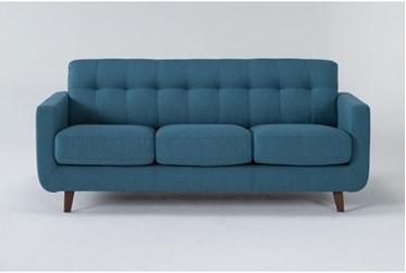 "Allie Jade 80"" Queen Sleeper Sofa With Memory Foam Mattress"