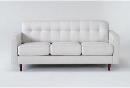 """London Optical 80"""" Queen Sleeper Sofa With Memory Foam Mattress"""