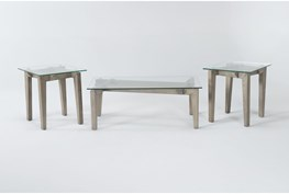 Adin 3 Piece Coffee Table Set
