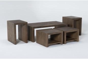 Rio 5 Piece Nesting Coffee Table Set