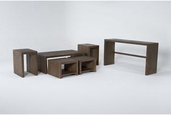 Rio 6 Piece Nesting Coffee Table Set