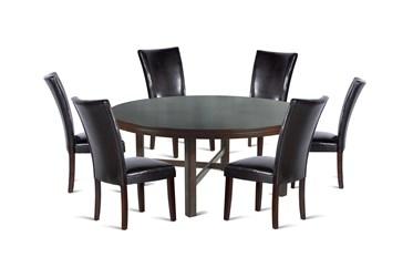 Hartford 7 Piece Round Dining Set