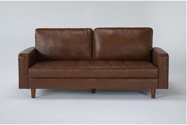 """Taranto 81"""" Leather Sofa"""