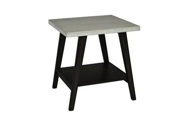 Wesley Black End Table