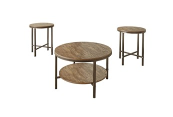 Sedona Silvershield 3 Piece Coffee Table Set