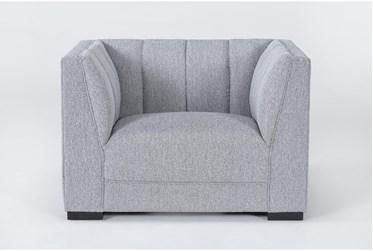 Palermo Light Grey Armchair