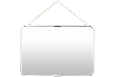 "16""X22"" Rectangle Brass Wall Mirror"