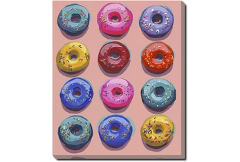 20X24 Dozen Donuts Ii With Gallery Wrap Canvas