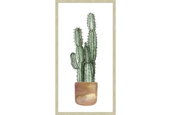 20X40 Tall Cactus With Champage Frame