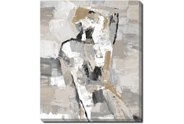 20X24 Tonal Abstract II With Gallery Wrap Canvas
