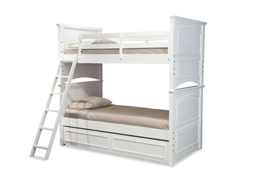 Madsie Twin Over Twin Bunk Bed With Trundle