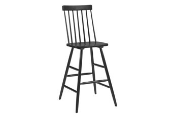 Ashley Black Bar Chair