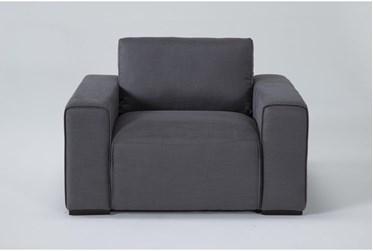 Brandisi Charcoal Armchair
