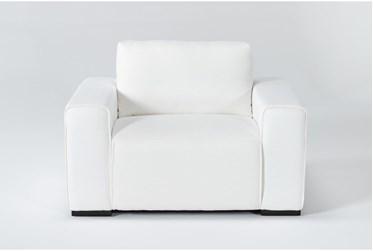 Brandisi White Armchair