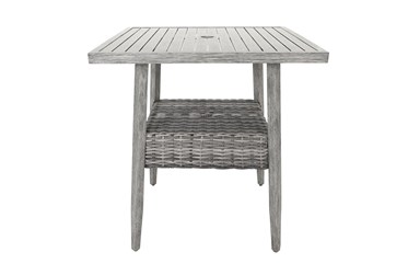 """Warwick Outdoor 37"""" Square Bar Table"""