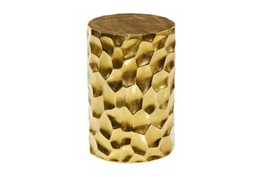 13X18 Gold Aluminum Stool