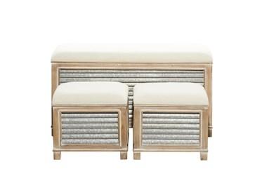 38X20 Brown Wood Storage Unit