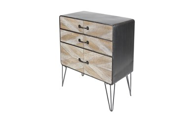 Brown Iron Cabinet
