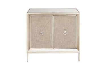 Beige Wood  Cabinet
