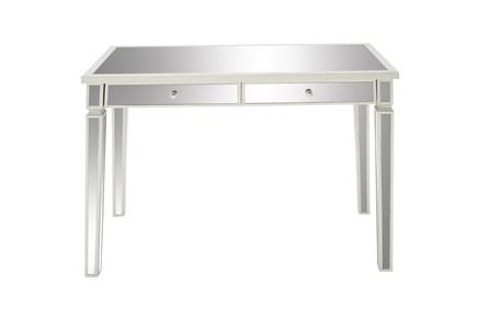 42X30 White Wood  Desk - Main