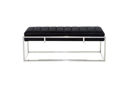 48X18 Multi Color Stainless Steel Bench - Main
