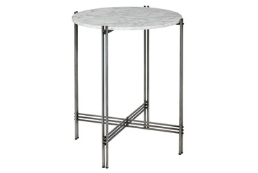 26X28 Multi Color Marble Accent Table