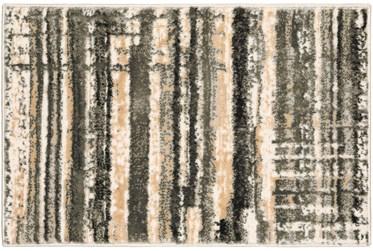 "20""X30"" Rug-Jacinto Grey/Taupe Stripes"
