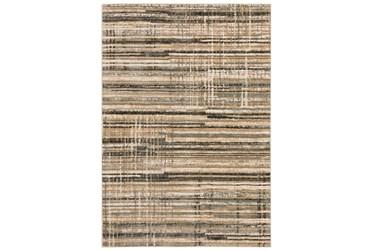 "3'3""X5'1"" Rug-Jacinto Grey/Taupe Stripes"