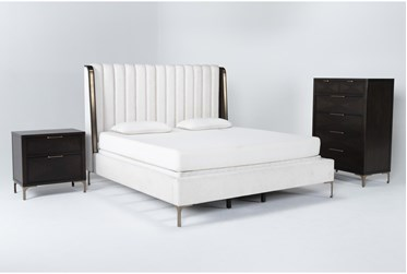 Palladium Eastern King 3 Piece Bedroom Set By Drew & Jonathan for Living Spaces