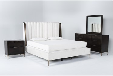 Palladium Eastern King 4 Piece Bedroom Set By Drew & Jonathan for Living Spaces