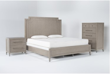 Westridge California King 3 Piece Bedroom Set By Drew & Jonathan for Living Spaces
