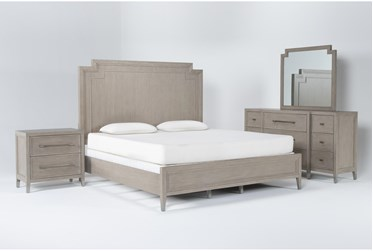 Westridge California King 4 Piece Bedroom Set By Drew & Jonathan for Living Spaces