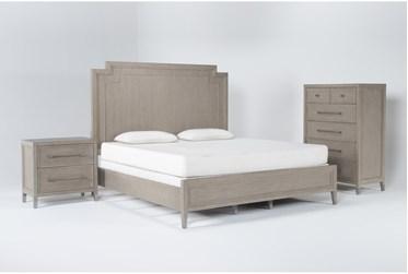 Westridge Eastern King 3 Piece Bedroom Set By Drew & Jonathan for Living Spaces